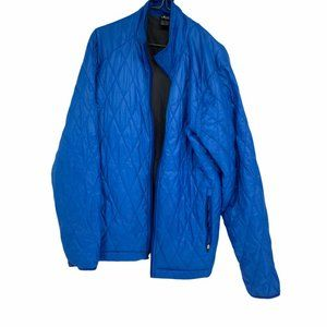 Oakley Blue Diamond quilted puffer jacket